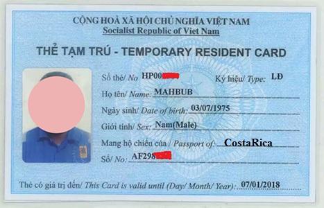Vietnam Visa Requirements For Costa Rica Costa Rican Passport Holders