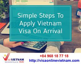 How to get vietnam visa on arrival fast & easy